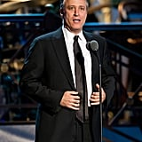 Jon Stewart spoke at the Comedy Awards in NYC.