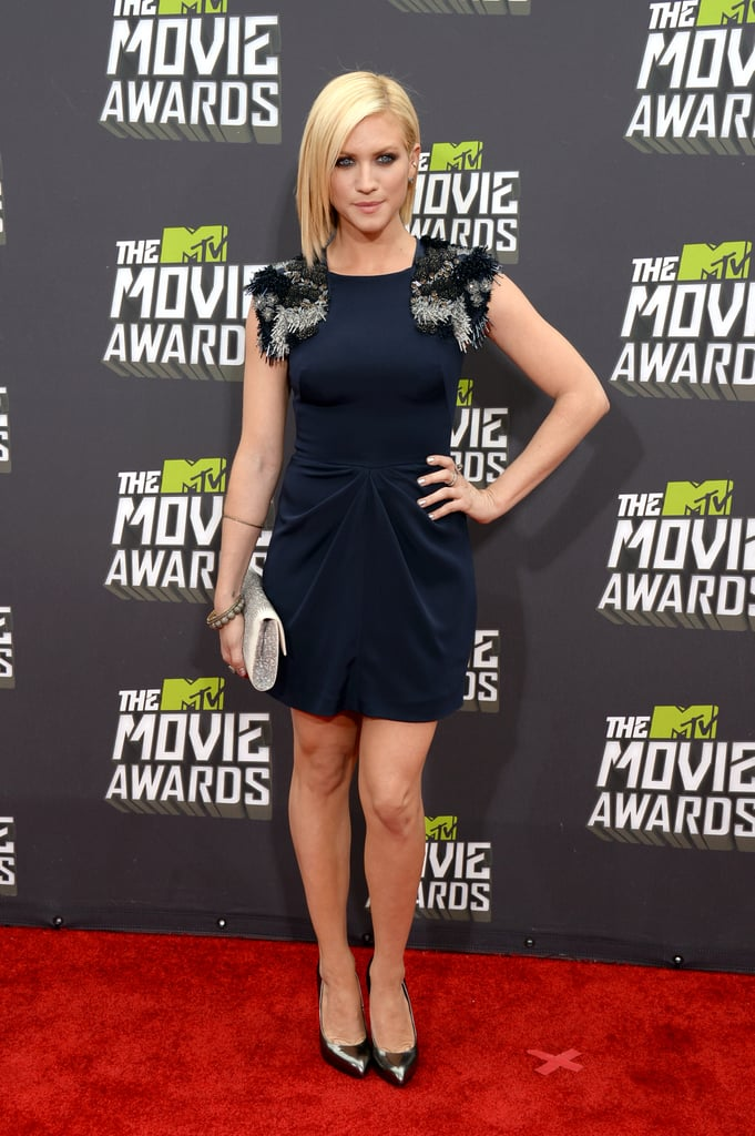 Brittany Snow at the MTV Movie Awards.