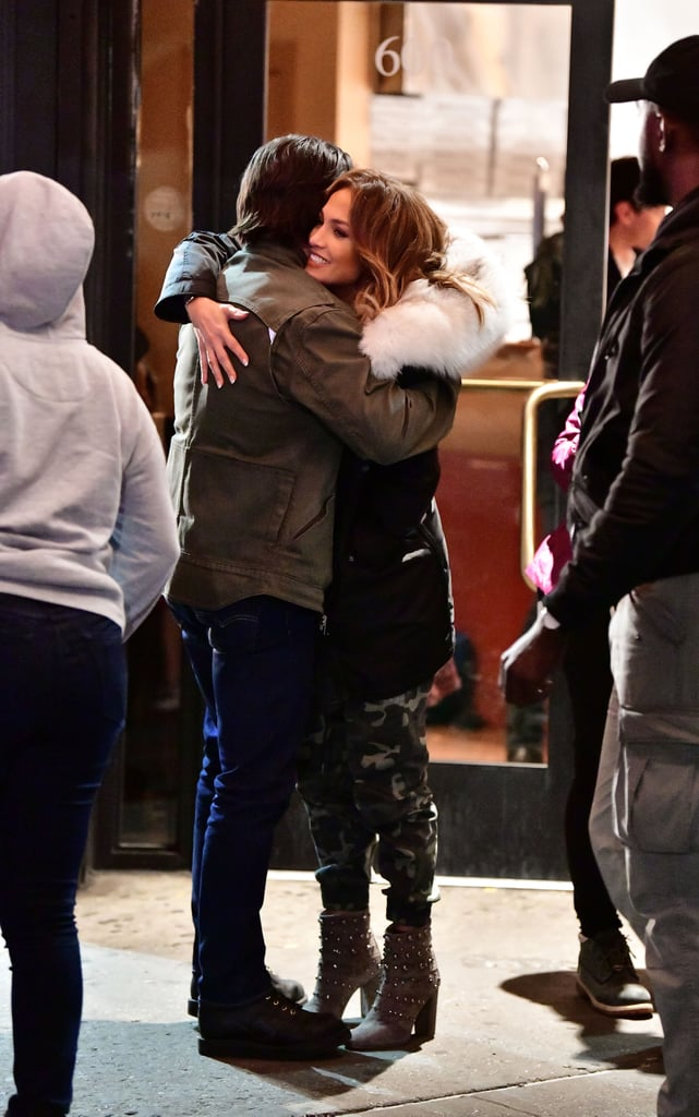 Jennifer Lopez and Milo Ventimiglia were spotted on the set of their new movie, Second Act, in NYC on Monday. The two were seen hugging each other off camera and shooting a scene outside of a pizza shop in the Bronx. Our hearts skipped a beat, because it has been confirmed Milo will be playing Jennifer's longtime boyfriend, Trey, in the film. We aren't ashamed to say we are hoping for a lustful sex scene or two on the big screen.  Besides Jennifer and Milo, Second Act is starring Leah Remini and Vanessa Hudgens. The Boy Next Door star plays Maya, a Big Box store employee who gets a second chance in life and wants to prove street smarts are just as valuable as a college degree. Leah is playing her best friend, Joan, while Vanessa is playing a young executive. The movie is set to premiere next year, so the countdown is on to see this entire cast on the big screen.      Related:                                                                                                           Milo Ventimiglia Is So Sexy, It's Actually Distracting