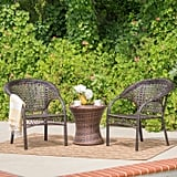 Monroe Wicker Chat Set