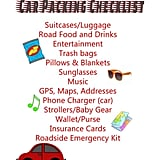 This car packing checklist from Love Our Crazy Life will help you to avoid forgetting key items on your next road trip.