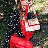 Poppy Lissiman Glitter Rays Flap Bag
