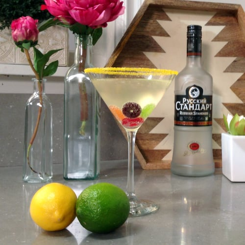 Olympic-Rings Cocktail