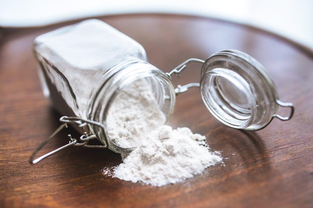 Sprinkle Flour or Cinnamon