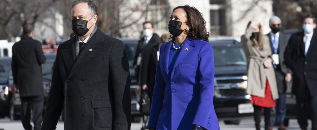 Kamala Harris's Christopher John Rogers Coat at Inauguration