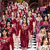 Dolce & Gabbana's Fall Collection Is For the Princess That Doesn't Need Saving