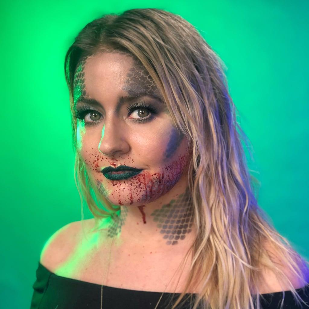 Creepy Mermaid Makeup Tutorial For Halloween