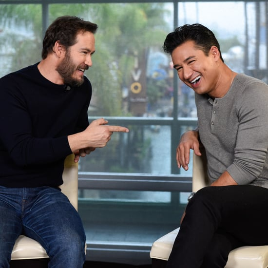 Mark-Paul Gosselaar and Mario Lopez Reunion on Extra 2019