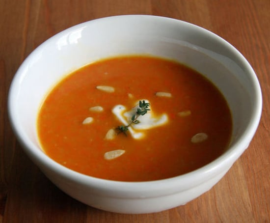 Detoxifying Carrot Ginger Soup