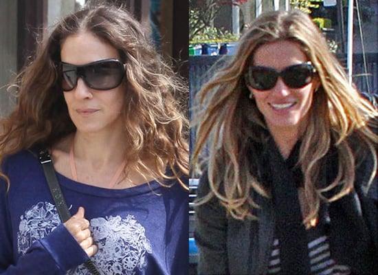 Sunglasses in style of Gisele Bundchen, Sarah Jessica Parker, Long Faces