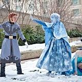Anna and Elsa (and Hans)