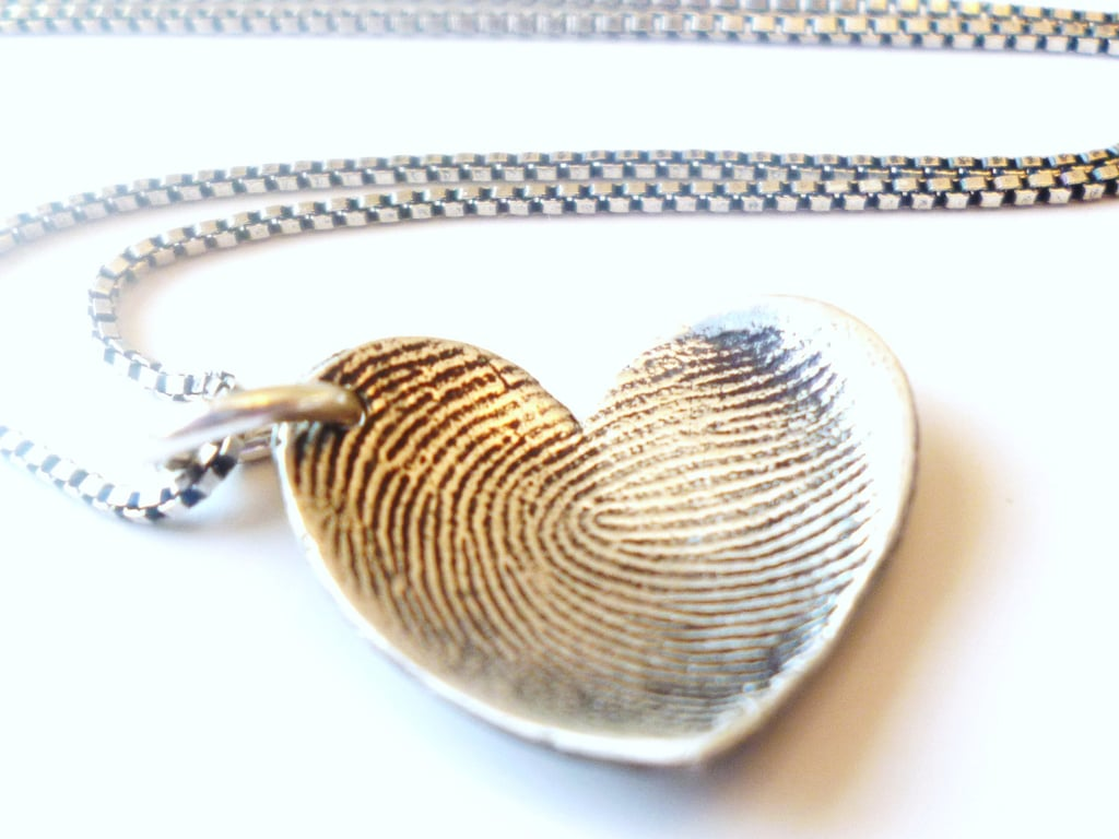 Baby Tags Fingerprint Necklaces