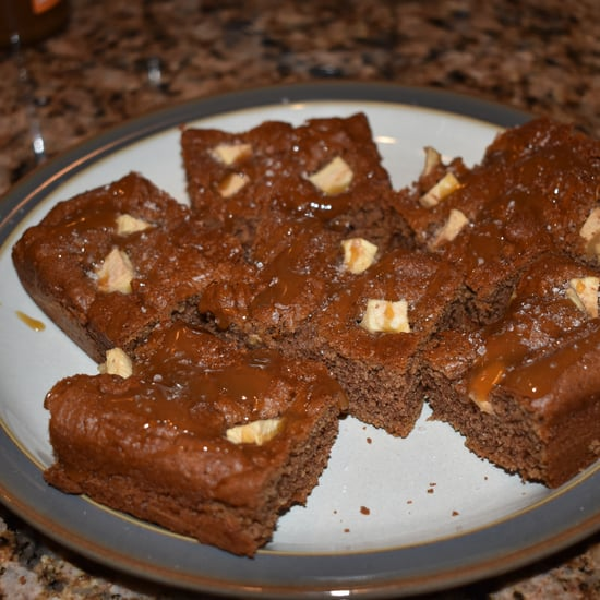 Healthy Salted Caramel Blondies Recipe