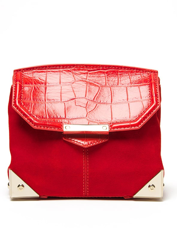 Contrast your darker hues with this vibrant Alexander Wang Marion crossbody bag ($750).