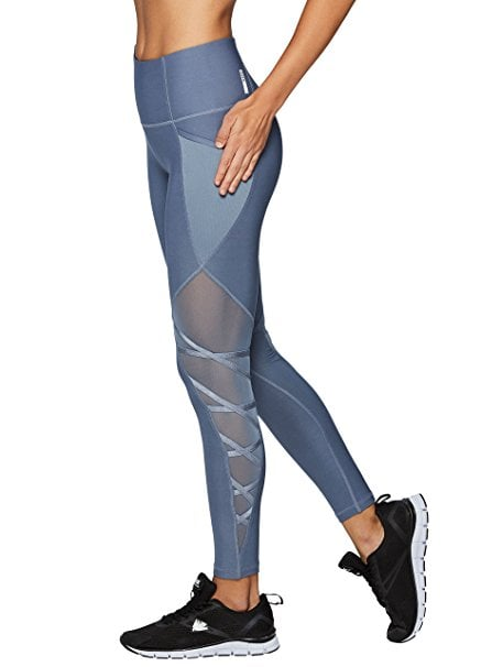 RBX Active Women s Workout Legging With Mesh  7b7a49450054