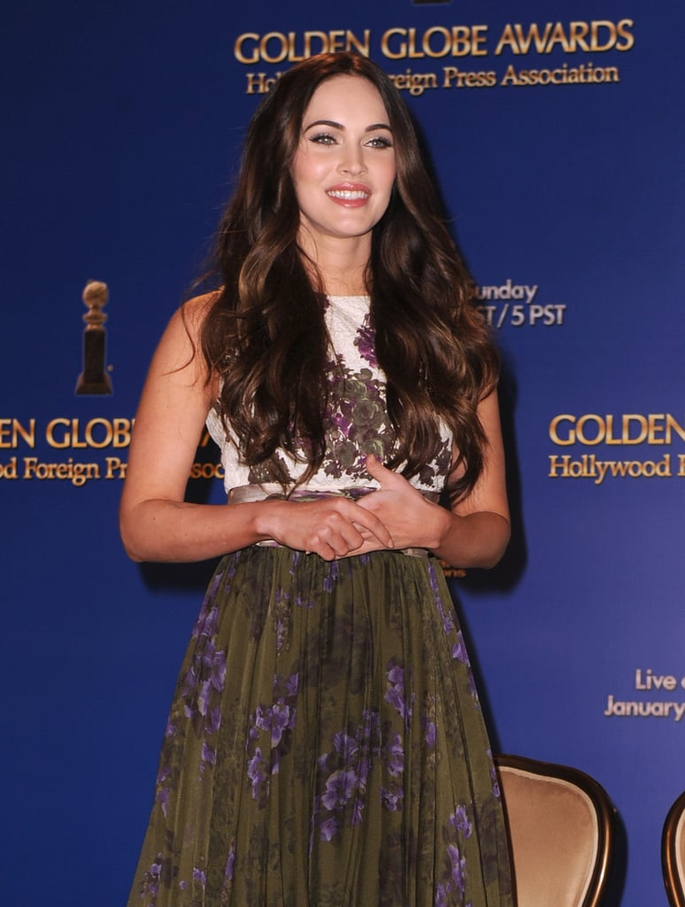 Megan Fox stepped out in LA for the Golden Globe Awards Nominations.