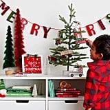 Merry Christmas Garland Banner