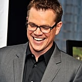 Matt Damon attended Family Reach Foundation's Cooking Live! in NYC.