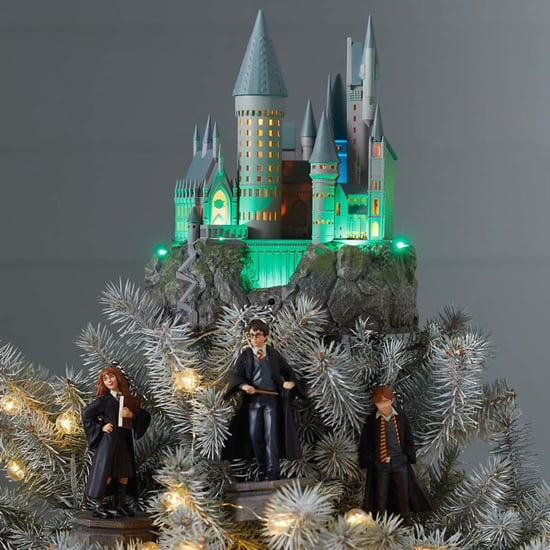 Harry Potter Hogwarts Castle Musical Christmas Tree Topper