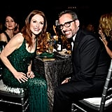Julianne Moore and Steve Carell sat together in the audience.