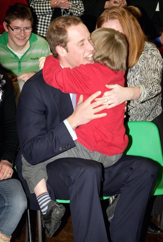 When He Broke Royal Protocol and Gave This Boy a Giant Bear Hug