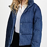 PRPS Denim Quilted Puffer Jacket