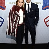 Olivia Palermo and Johannes Huebl at NYFW