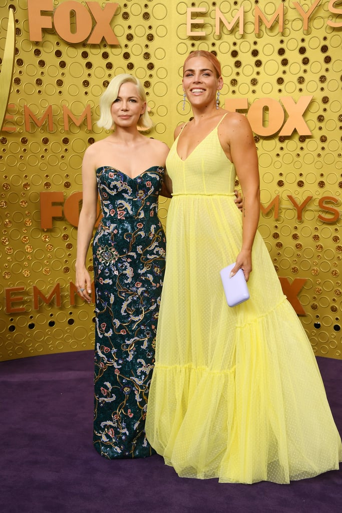 Michelle Williams and Busy Philipps at the 71st Annual Emmy Awards (2019)