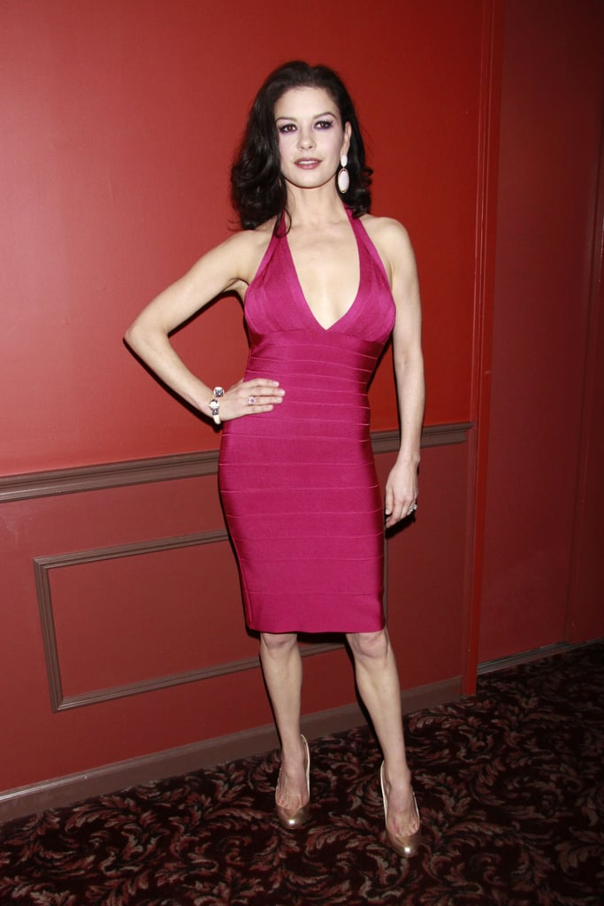 Catherine Zeta-Jones made an appearance at the award event.
