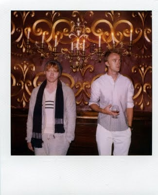 Rupert Grint and Tom Felton Star in Band of Outsiders A/W 2011 Look Book