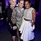 Sarah and Holland paused for a fun group photo with Regina King at a Critics' Choice Awards afterparty in January 2016.