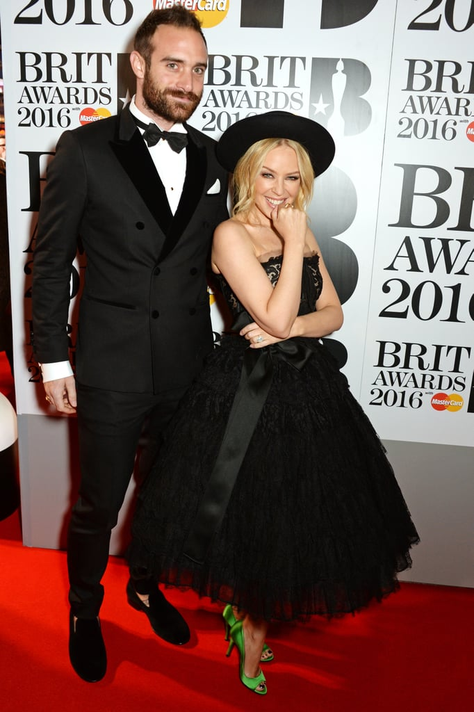 Celebrities at the Brit Awards 2016