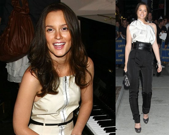 Photos of Leighton Meester, Rachel Zoe and Brad Goreski