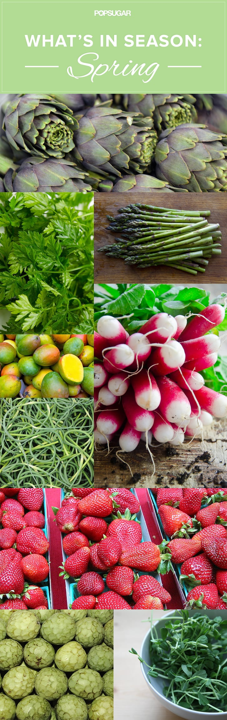 A Seasonal Eater's Guide to Spring Produce