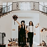 Halloween Wedding Inspired by Tim Burton's Beetlejuice
