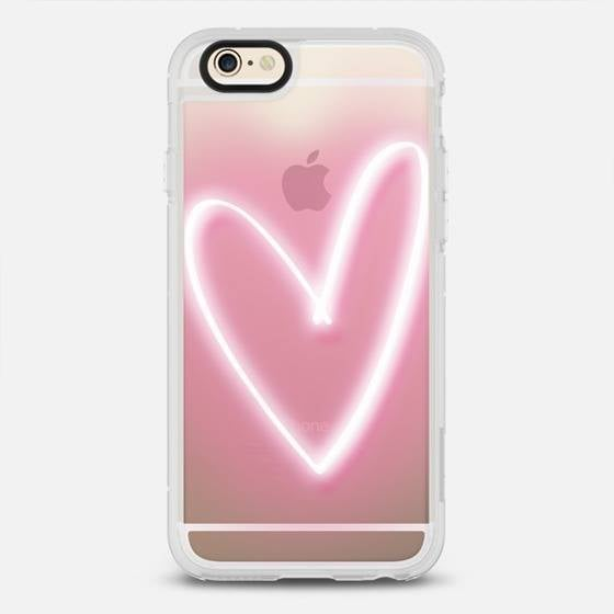 Neon Heart iPhone 6/6S Case ($40)
