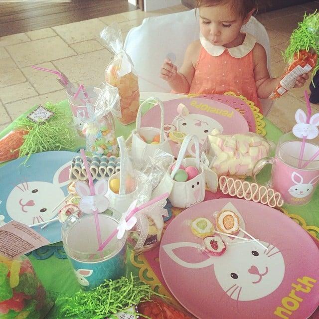 Easter came early for Penelope Disick thanks to her grandma Kris Jenner.  Source: Instagram user kourtneykardash
