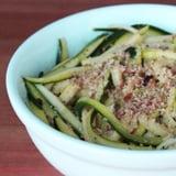 Paleo Pasta Alternative: Courgette Noodles
