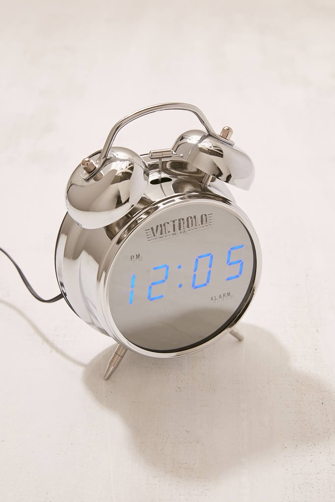 Victrola Chrome Digital Alarm Clock