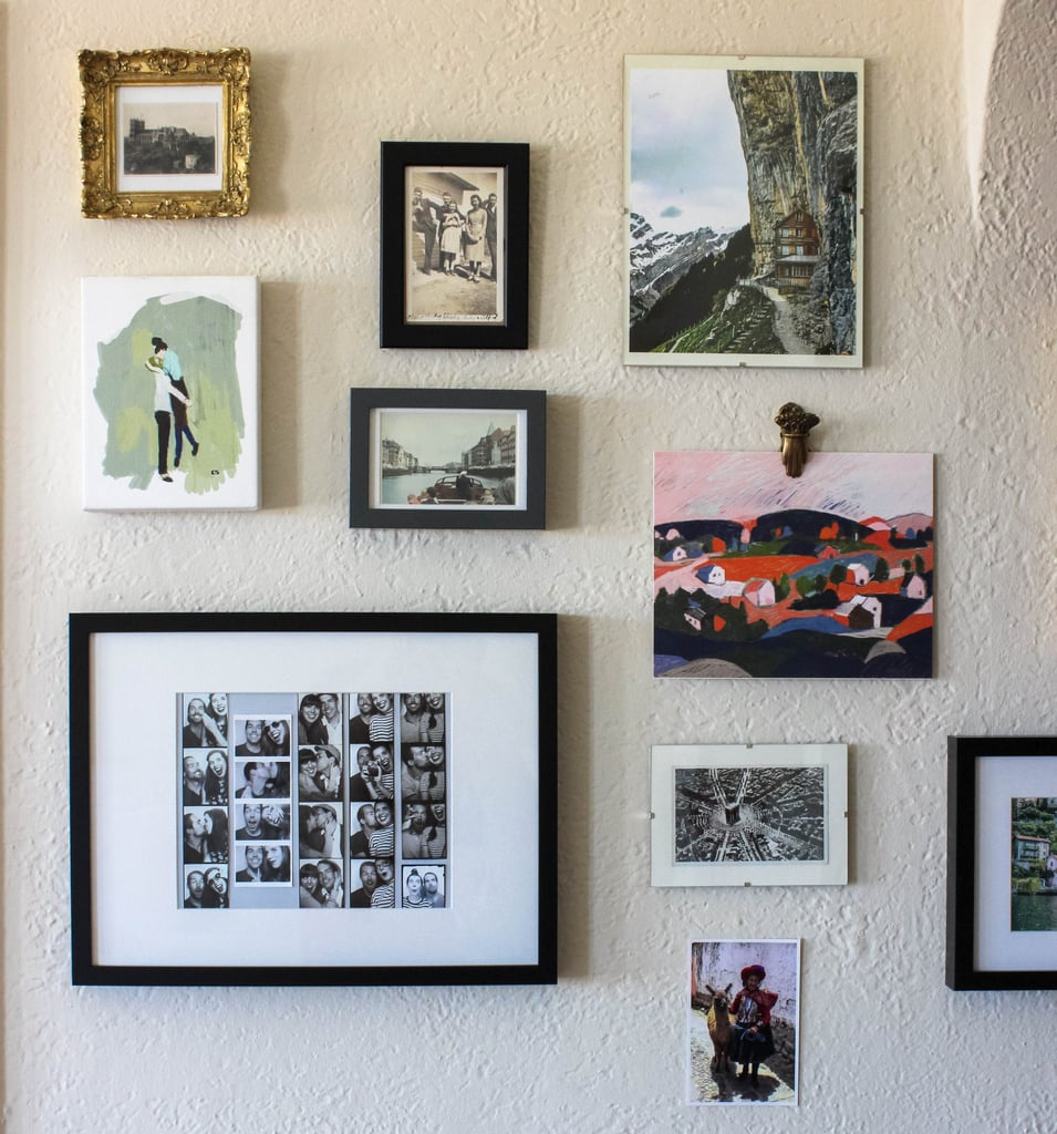 Displaying photo strips from recent travels