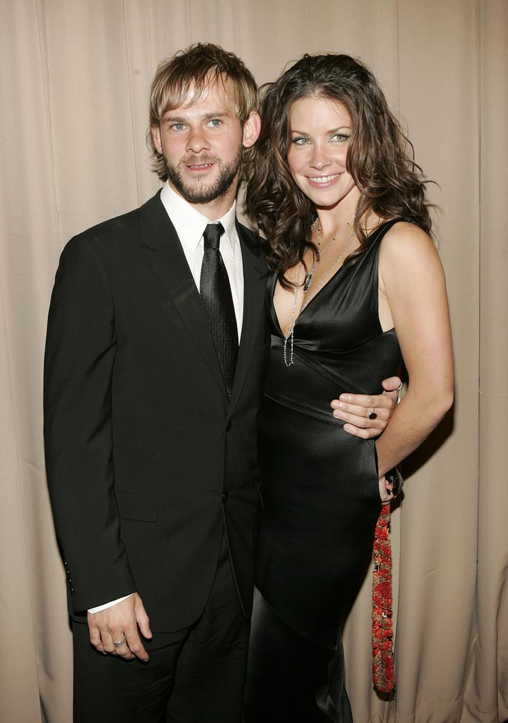 Dominic Monaghan and Evangeline Lilly