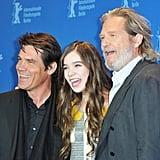 True Grit's Hailee, Josh, and Jeff Make a Pre-Oscars Stop in Berlin