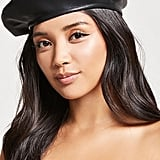 Forever 21 Faux Leather Beret