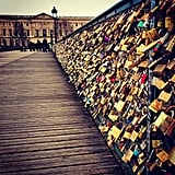 Add a Lock to the Love Lock Bridge in Paris