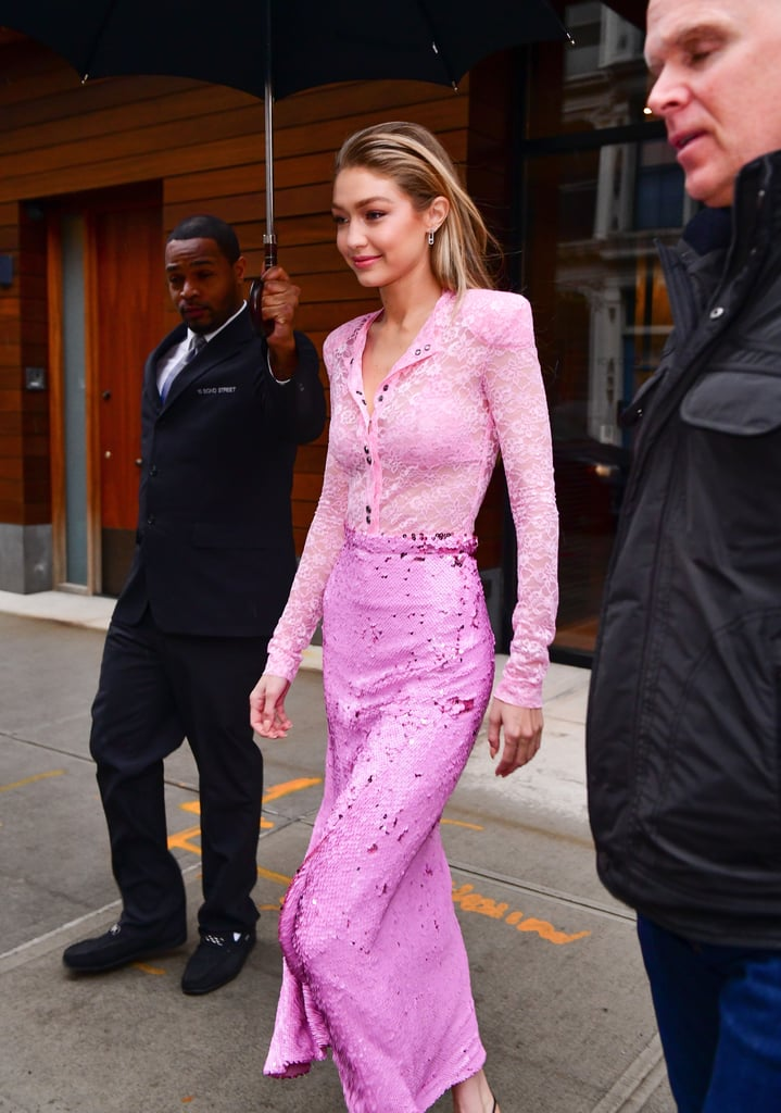 Gigi Hadid's Intergalactic Space Heels Will Make You Question Your Basic Black Pumps