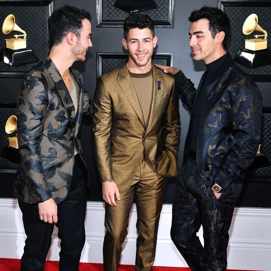 Nick Jonas Had Spinach in His Teeth at the Grammys