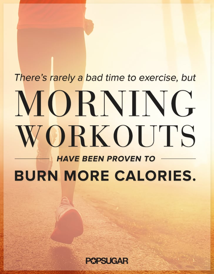 Motivational Poster For Working Out In The Morning