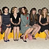 The Miu Miu Front-Row Crew