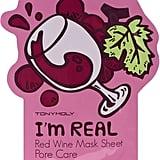 Tony Moly TONYMOLY I'm Real Red Wine Mask Sheet