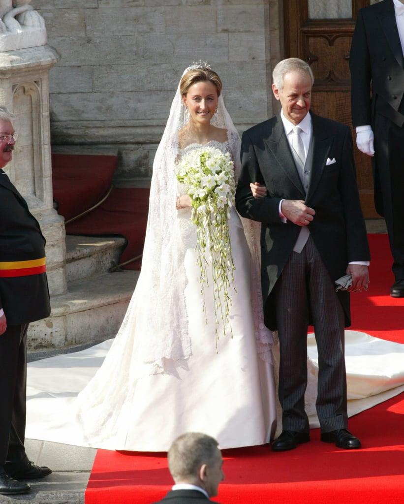 Claire von Belgien, 2003 | Die royalen Brautkleider der echten ...